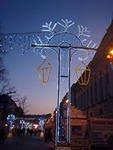 Петербург украшают к новогодним праздникам