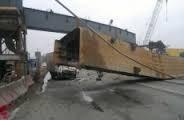 Нарушение правил безопасности при строительстве дорожной развязки на Московском шоссе