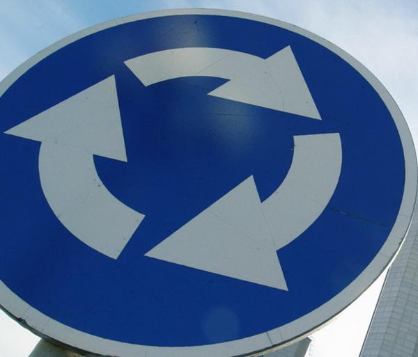 МВД предложило изменить приоритет при круговом движении