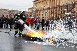 В Кировском районе огнеборцев поздравят с Днём пожарной охраны