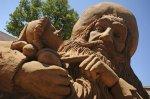 Фестиваль песчаных скульптур развернётся на пляже у Петропавловской крепости