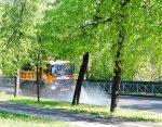 В Петербурге изменили время поливомоечных работ