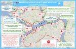 """На время проведения марафона """"Белые Ночи"""" в Петербурге перекроют движение транспорта"""