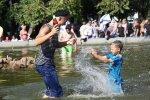 В петербургских фонтанах запретят купаться во время празднований Дня ВМФ и Дня ВДВ