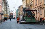На петербургских дорогах начинаются ремонтные работы