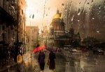 Это лето может стать самым дождливым в истории Петербурга