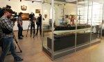 На выставке в Центральном военно-морском музее представили модель крейсера «Рюрик»