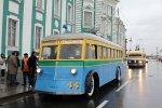 На Дворцовой площади отметят 80-летие петербургского троллейбуса