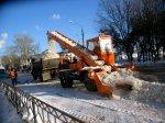 За ноябрь петербургские дорожники вывезли более 700 тысяч кубометров снега